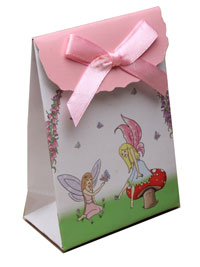Gift box / Fairy gift box with velcro top. 10x7x4cm