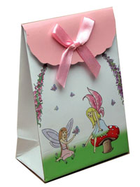 Gift box / Fairy gift box with velcro top. 13x9x5cm