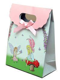 Gift box / Fairy gift box with velcro top. 16x12x6cm
