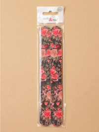 Emery Boards / Pack of 2 Ditsy floral print.