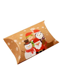 Xmas / Group snowflake print Pillow pack box.