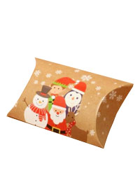 Xmas / Group print pillow pack gift box.