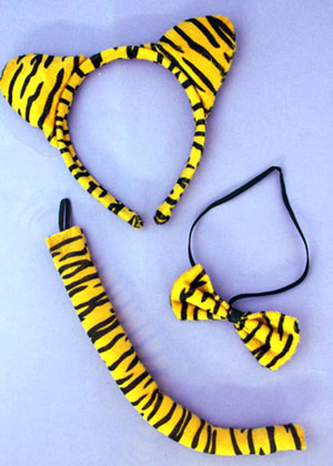 Aliceband / Tiger dress up set