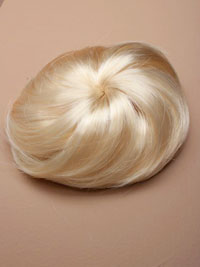 Bun / Imitation Blonde Hair Bun.