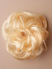 Scrunchie / Imitation Blonde hair messy scrunchie.