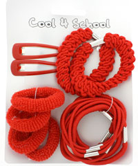 School Set / Red