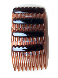 Combs / Tort 5CM combs 4 pack in a PP bag.