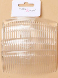 Combs / Clear 9CM 4 PK