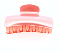Clearance / 7cm Pearlised finish pastel clamp.