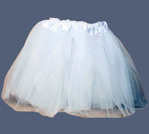 Tutu / White net child size Tutu