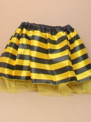 "Tutu / Child size bumble bee tutu 15-28"" Waistband."