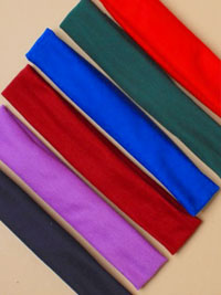 Bandeau / 3cm wide school coloured Bandeau.