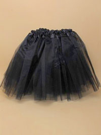 Halloween / Black net child size tutu.