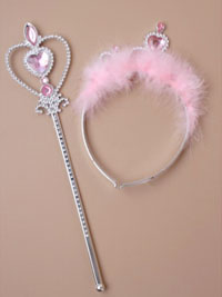 Tiara Headband/Wand Set
