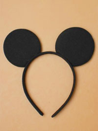 Alice band / Black Mouse ears aliceband.