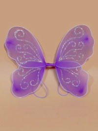 Fairy Wings / Size : 28x30cm. Small Lilac fairy wings.