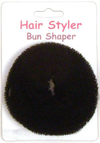 Bun Former / Black medium 85mm