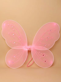 Fairy Wings / pink butterfly fairy wings 40x36cm.