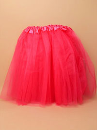 Tutu / Adult sized fuchsia pink triple layered tutu.