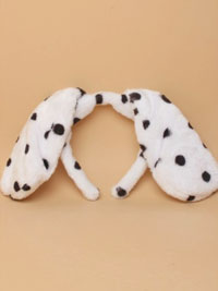 Aliceband / Dalmation Floppy dog ears aliceband.