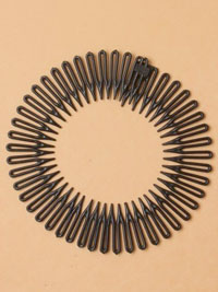 Flexi comb / Black flexi comb.