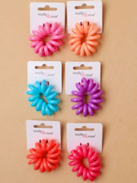 Hair Tie / Jumbo size Telephone cord Hair tie in colours.