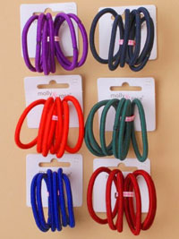 Elastic / School colours Snag free endless elastics.
