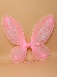 Fairy Wings / Small Pointed pink fairy wings. 35x40cm