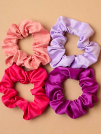 Scrunchie / Small satin fabric scrunchie. Assorted colours.