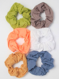 Scrunchie / 100% Cotton fabric scrunchie. 10cm