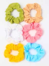 Scrunchie / 100% Cotton fabric scrunchie. 7cm dia