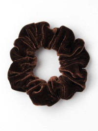 Scrunchie / Velvet scrunchie. In Brown Only.