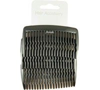 Combs / Pack of 4 Black 8cm combs.
