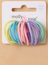 Elastics / 20pk very small pastel colours