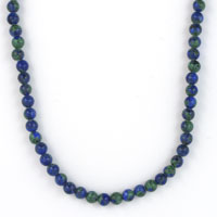 NECKLET, AZURITE 4mm