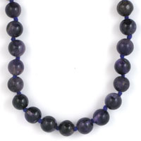 NECKLET, AMETHYST 8mm