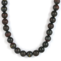 NECKLET, TIGER IRON 8mm