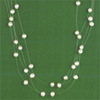 ILLUSION NECKLET, F.W.P.