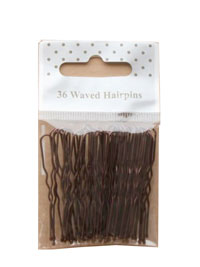 Hairpins / Pack of 36 in Brown 45mm.
