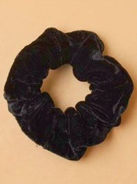 Scrunchie / Black Velvet quality scrunchie.