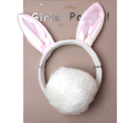 Fancy Dress / Rabbit headband with tail set.