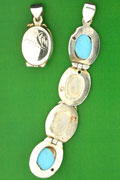 SILVER LOCKET, FOUR SECTIONS