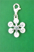 SILVER CLIP-ON PENDANT